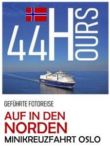 Fotoreise Minikreuzfahr von Kiel nach Oslo